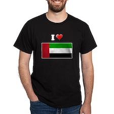 I love United Arab Emirates F T-Shirt