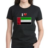 I love United Arab Emirates F Tee