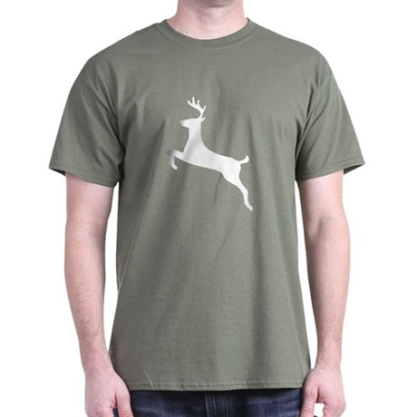 Leaping Deer Dark T-Shirt