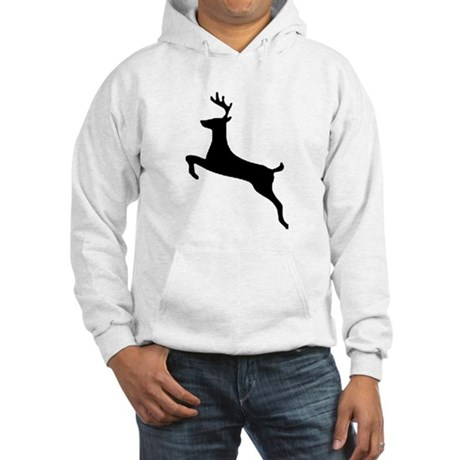 Leaping Deer Hooded Sweatshirt