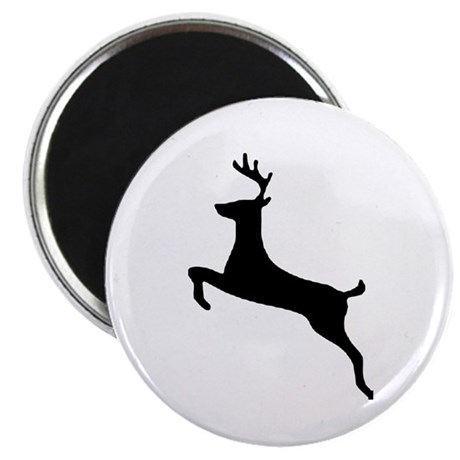 "Leaping Deer 2.25"" Magnet (10 pack)"