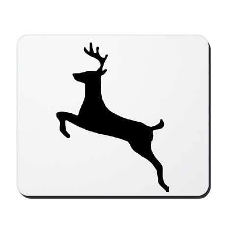 Leaping Deer Mousepad