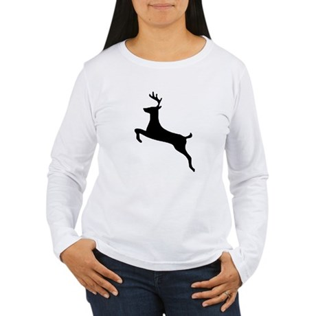 Leaping Deer Women's Long Sleeve T-Shirt