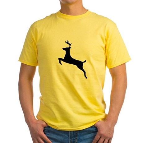 Leaping Deer Yellow T-Shirt