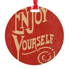 Enjoy - Cards Ornament