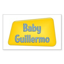 Baby Guillermo Rectangle Decal