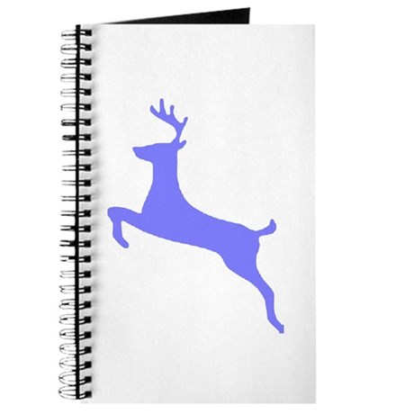 Purple Leaping Deer Journal