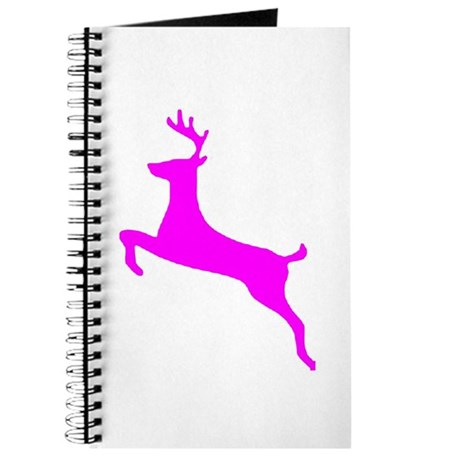 Hot Pink Leaping Deer Journal