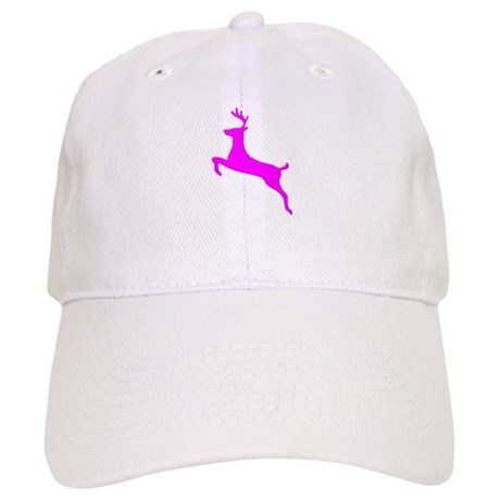 Hot Pink Leaping Deer Cap