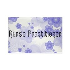 Nurse P 2011 Blue Rectangle Magnet