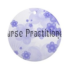 Nurse P 2011 Blue Round Ornament
