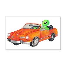 car_large Rectangle Car Magnet