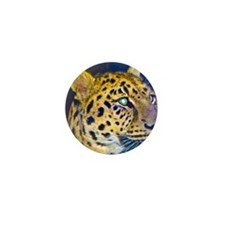 leopard BIG Mini Button