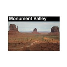 Monument Valley Rectangle Magnet (100 pack)