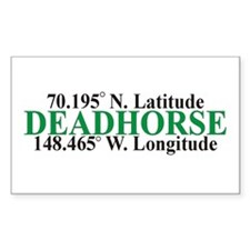 DeadHorse Rectangle Decal