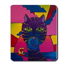 Hip Cat Mousepad