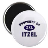 Property of itzel Magnet