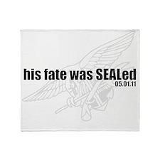 cafepress_fatesealed Throw Blanket