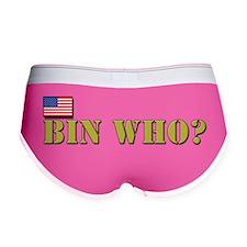 Bin-Who Women's Boy Brief