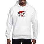 Mario tattoo Hooded Sweatshirt