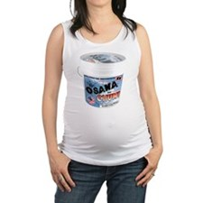 TERRORIST CHUM bucket Maternity Tank Top