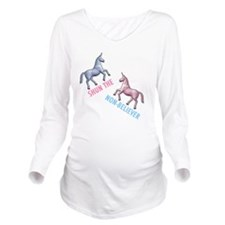 Charlie-D1-WhiteAppa Long Sleeve Maternity T-Shirt