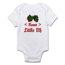 Personalized Little Elf Infant Bodysuit