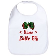 Personalized Little Elf Bib