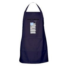 Dialysis is Complicated Apron (dark)