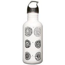 abyssinian coins Water Bottle