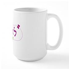 hebrew leah with butterflies Mug