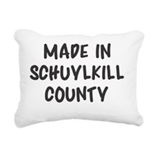 Made in Sch County Rectangular Canvas Pillow