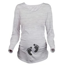 Cute Baby Feet For Expecting Mother Long Sleeve Ma