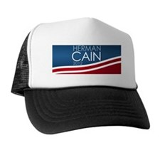 license-plate_herman_cain Trucker Hat