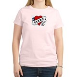 Elena tattoo Women's Pink T-Shirt