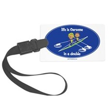 womans_double Large Luggage Tag