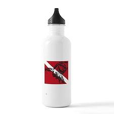 SHARK DIVER BLACK Water Bottle