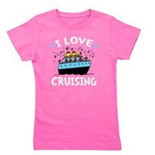 Love Cruising -dk Girl's Tee