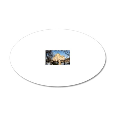1DS2-2327-POSTER 20x12 Oval Wall Decal