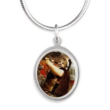 Poster_Thor Silver Oval Necklace