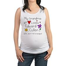 Gma Loves Ed Shh Maternity Tank Top