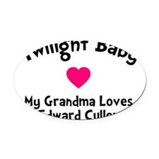 TwiHeart Baby Gma Oval Car Magnet
