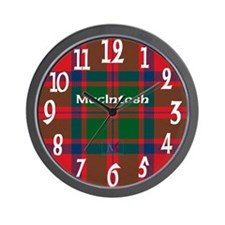 MacIntosh Clan Wall Clock