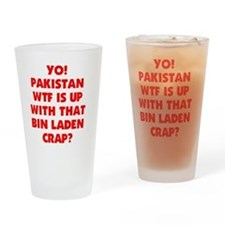 YO PAKISTAN Drinking Glass