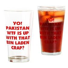 YO PAKISTAN Drinking Glass
