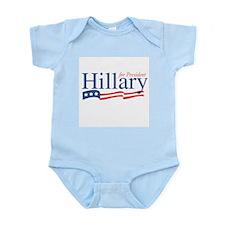 Hillary for President Infant Bodysuit