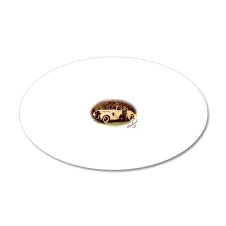 Packard 20x12 Oval Wall Decal