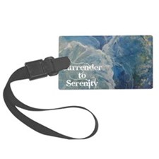surrender2serenity2_poster Luggage Tag