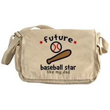 Baseball Dad Messenger Bag