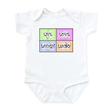 Live Love Laugh Lindy Infant Bodysuit